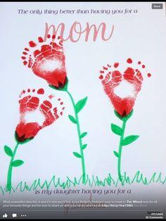 Feet flowers