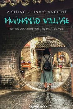 A travel guide for visiting China's beautiful Huangyao ancient village, the filming location for the movie The Painted Veil. A travel guide for visiting China's beautiful Huangyao ancient village, the filming location for the movie The Painted Veil. China Travel Guide, Europe Travel Guide, Asia Travel, Solo Travel, Japan Travel, Travel Guides, Travel Tips, Travel Hacks, Travel Packing