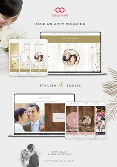 @appycouple - get yourself set up with a stylish wedding website and app the easy way! Plus click through to receive 15% off!
