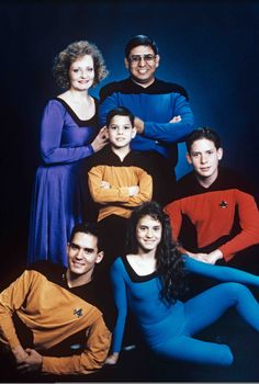 This family boldly goes where no other family has gone before.