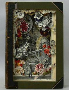 Book Sculptures // Design You Trust