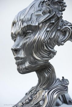 Amazing stainless steel sculptures from Gil Bruvel at http://www.bruvel.com/