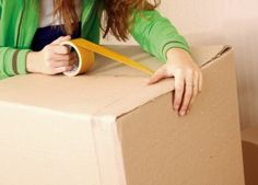 """There's no such thing as a completely """"stress free"""" moving day, but here are some tips and tricks to help the big day go by without a hitch. Moving Day, Moving Tips, Moving House, Moving Hacks, Packing To Move, Packing Tips, Organizing For A Move, Move On Up, Big Move"""