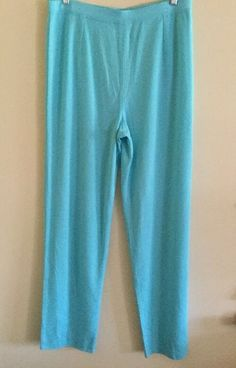 Authentic Exclusively MISOOK Elastic Pull on Knit Pants Womens Sz L | eBay