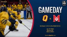 GAMEDAY! Best of luck to M who visit No.3 McGill tonight! Watch it live on OUA.tv as two of the best teams in  do battle! #GoGaelsGo