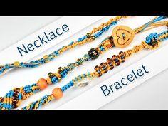 Macramé Transformer Necklace / Bracelet - YouTube