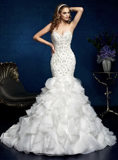 Kitty Chen Wedding Dresses 2014 Bridal Collection. To see more: http://www.modwedding.com/2014/02/10/kitty-chen-wedding-dresses-2014-bridal-collection/ #wedding #weddings