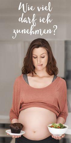 Wie viel ist zu viel? Lest hier, welche Gewichtszunahme in der Schwangerschaft normal ist -> interaktive Grafik.