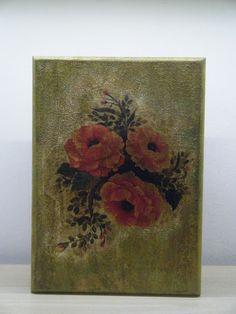 Κλειδοθήκη με λουλούδια Blog, Painting, Art, Art Background, Painting Art, Kunst, Paintings, Gcse Art