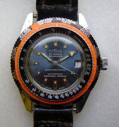 Misalla Worldtime vintage watch