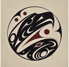 Image result for Haida eagle and bear