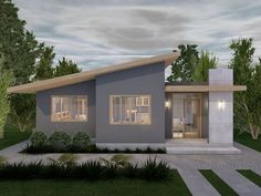House Roof Design, 3d Home Design, Small House Design, New Home Designs, Home Design Plans, Modern House Design, My House Plans, Small House Plans, Modern Minimalist House