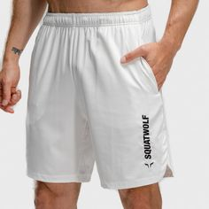 Mens Gym Shorts, New Warriors, Finish Strong, Statement Tees, Intense Workout, Legs Day, White Fabrics, Pearl White, Black Hoodie