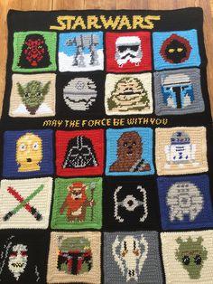 Ravelry: Venus781's Gavin's Star Wars Blanket