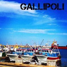 Il porto commerciale di Gallipoli - Gallipoli's commercial port