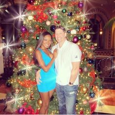 Gorgeous interracial couple at Christmastime #love #wmbw #bwwm #swirl #Christmas #lovingday #relationshipgoals