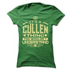 Cool IT IS CULLEN THING AWESOME SHIRT T-Shirts