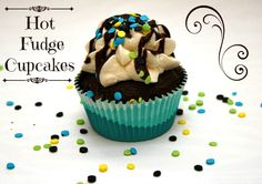 Hot Fudge Cupcakes