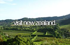 I want to visit New Zealand badly!! :) One day!