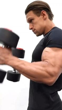 Bicep And Tricep Workout, Abs And Cardio Workout, Gym Workouts For Men, Calisthenics Workout, Gym Workout Videos, Weight Training Workouts, Gym Workout For Beginners, Dumbbell Workout, Full Body Weight Workout