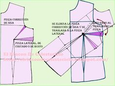 El Rincon De Celestecielo: octubre 2012 Pattern Drafting, Couture, Blouses For Women, Bodice, Projects To Try, Sewing, Patterns, Magdalena, Google