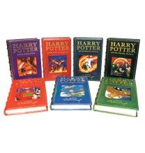 Complete Set Of Harry Potter Collector S Edition Deluxe W Original Ilrations And Les