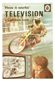 (09451X) Postcard - Television - How it Works - Ladybird book cover | eBay