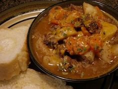 OLD FASHIONED BEEF STEW » Get Off Your Butt and BAKE