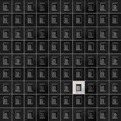 Carlo Cafferini est un photographe italien passionné par l'architecture et la géométrie. Dans cette série «Fantasy Motel», Carlo joue avec la répétition