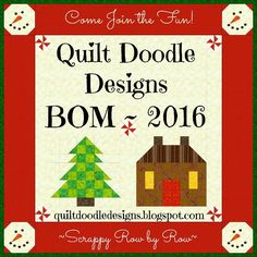 (7) Name: 'Quilting : Quilt Doodle BOM 2016 Supply List