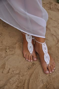 for beach wedding #perfectshoes #wedding toes