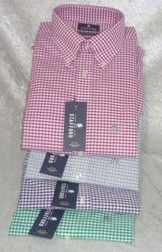 Stafford dress shirt wrinkle free oxford plaid men's size 14.5............18 NEW  16.99 http://www.ebay.com/itm/Stafford-dress-shirt-wrinkle-free-oxford-plaid-mens-size-14-5-18-NEW-/251709347817?ssPageName=STRK:MESE:IT