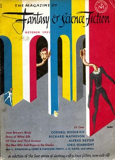 The October 1951 issue of The Magazine of Fantasy and Science Fiction | Flickr - Photo Sharing!