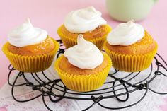 Simple and oh-so-delicious, these basic cupcakes make a lovely Tuesday afternoon treat.