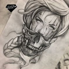 Pin by michael roselli on tattoo drawings tattoos, tattoo dr Chicano Tattoos, Gangsta Tattoos, Chicano Art, Skull Tattoos, Body Art Tattoos, Girl Tattoos, Sleeve Tattoos, Skull Face Tattoo, Neck Tattoos