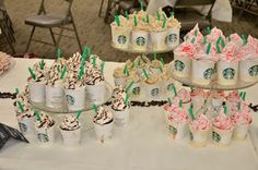Pinned from: Home sweet together: Starbucks cupcakes