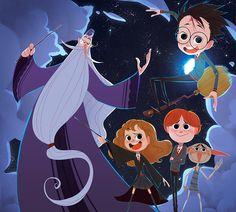 Harry Potter - Symphonic Sorcery on Behance