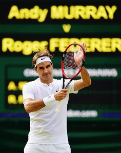 Roger Federer defeats Andy Murray 7-5 7-5 6-4 in the semifinals of Wimbledon, to reach his 10th Wimbledon final and 26th major final.