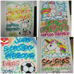 #marcamostuscuadernos #Piedecuesta Notebook Binder, Doodles, Journal, Lettering, School, Drawings, Poster, Ds, Instagram