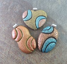 Polymer Cay Pendants by Sandra DeYoung Niese | Flickr - Photo Sharing!