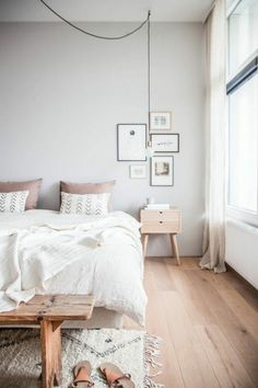 Die 48 besten Bilder auf Schlafzimmer Wandfarbe Grau | Gray bedroom ...