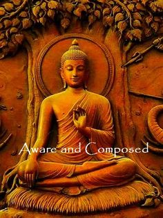 Aware and Composed...  Cool Calm soothes like a Mental Balm...   http://What-Buddha-Said.net/drops/IV/Aware_and_Composed.htm
