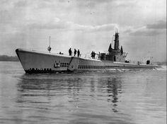 USS Escolar (SS-294) Balao-class US Navy submarine during WWII. (wikipedia.image) 5.17