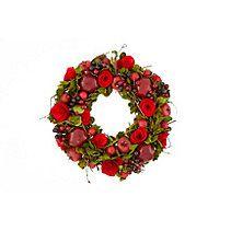Medium Wreath Wreaths And Garlands, Floral Wreath, Christmas, Medium, Home Decor, Xmas, Decoration Home, Room Decor, Weihnachten