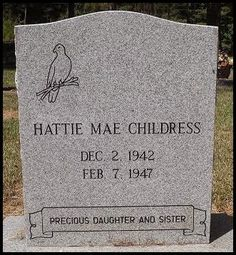 Roots from the Bayou : Wednesday's Child - Hattie Mae Childress #genealogy #familyhistory