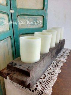 Moldes de tapa de azucar antiguos para colocar candelas o flores