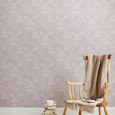 BuyJohn Lewis Cow Parsley Wallpaper, Cassis Online at johnlewis.com