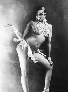 Inspiration: Josephine Baker   She's So RAW Spring/Summer Collection 2014