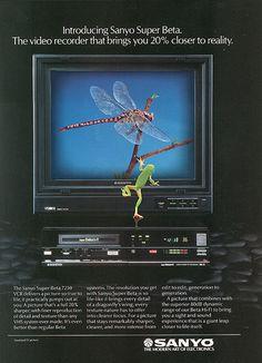 Sanyo Beta VCR 1985