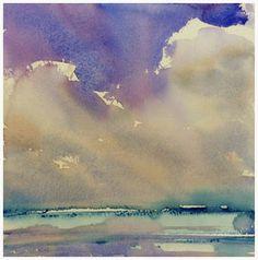 Watercolor by Bjorn Bernstrom